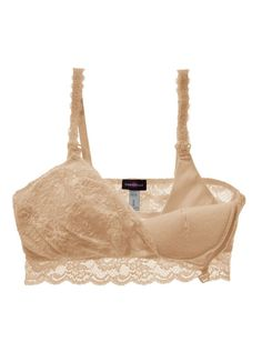 370db35cfccd0 *New* Cosabella Never Say Never Maternity Mommie Nursing Soft Bra (Size  Medium)