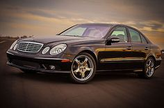 2005 Mercedes AMG package E320 Sedan - Black