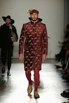 """kirztym: """"Nuno Gama FW 2015 - Lisboa Fashion Week """""""