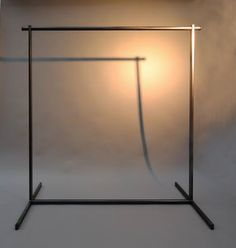 Schraubbare Garderobe aus Stahl