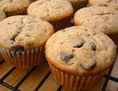 Yum!  Best banana chocolate chip muffin recipe ever