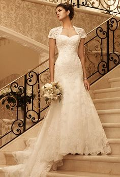 Traditional-Style, Trumpet Wedding Gowns for Older Brides | I Do Take Two