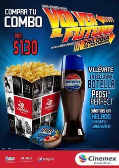 Promoción Cinemex Pepsi Perfect Volver al Futuro