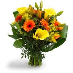 Beautiful yellow bouquet
