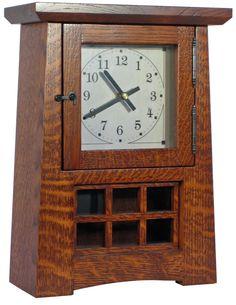 323 Best Craftsman Clocks Images In 2019 Craftsman Clocks Tree Hut Watches Craftsman Style
