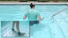 Basic Walking Exercises in a Pool, Aquatic Therapy - Doctor Jo shows you some basic Aquatic Therapy water exercises in a pool to get your walking or gait pattern back after an injury. They are also a good way to warm up before a aquatic therapy workout. For more physical therapy videos or to Ask Doctor Jo a question, visit http://www.AskDoctorJo.com