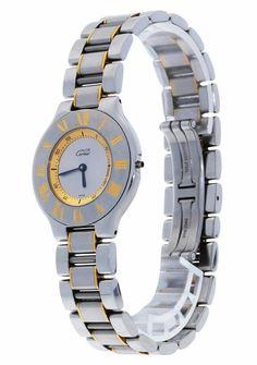Montre Cartier Must 21 1330 , estimer 1600€   Bijoux, montres, Montres, 280931b6adc