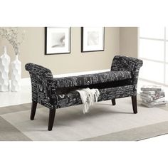 You'll love the Tufted Fabric Storage Bench at Wayfair - Great Deals on all Furniture  products with Free Shipping on most stuff, even the big stuff.