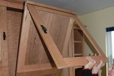 [QUESTION] How do you build a DIY murphy bed? What is the process to build a murphy bed? [ANSWER] The Murphy bed is a cross between a cabinet and a bed. It is commonly referred to as a pull-down bed, wall bed or fold-down bed. Murphy Bunk Beds, Murphy Bed Kits, Build A Murphy Bed, Murphy Bed Desk, Best Murphy Bed, Modern Murphy Beds, Murphy Bed Plans, Murphy Bes, Plywood Headboard
