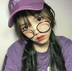 Jikook, Cute Profile Pictures, Girl Korea, Girls With Glasses, Girl Glasses, Asian Style, Korean Style, Hey Girl, Chi Chi