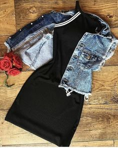 Cute Comfy Outfits, Cute Summer Outfits, Pretty Outfits, Stylish Outfits, Teen Fashion Outfits, Cute Fashion, Outfits For Teens, Girl Outfits, Vetement Fashion