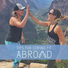 Here are some helpful and realistic tips to live a balanced abroad lifestyle!