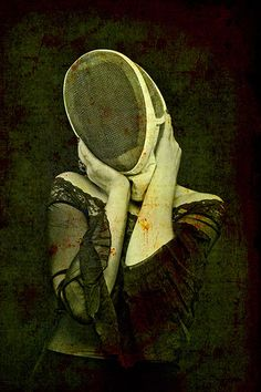 Savage Garden- Ive always thought fencing masks look like fruitfly eyes.