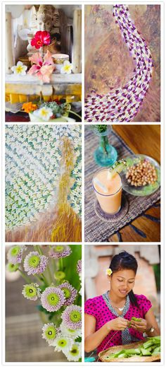Talk about color inspiration! Beautiful!