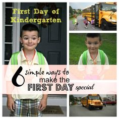 6 Simple Ways to Make the First Day of School Special