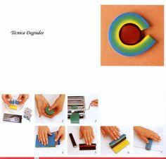 TUTORIAL: Polymer clay cane