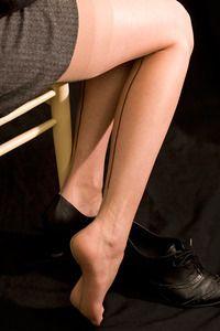 Ultra Sheer Retro Backseam Stockings