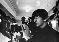 Ringo with the camera!