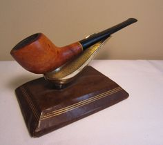 Vintage KBB Yello Bole Streamliner Style Briar Estate Tobacco Smoking Pipe THINS