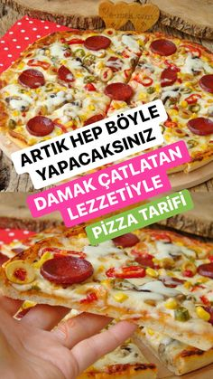 Lucas Nct, Pizza You, Pizza Recipes, Brunch Recipes, Make Your Own Pizza, Turkish Recipes, Snack, Food Design, Ideas