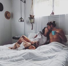 I'll even get up and make the coffee and cook breakfast to let you sleep in for a little bit in the morning. Than I'll come back and kiss you gently awake. If you knew how much of a not morning person I am you will know how much love is in that.
