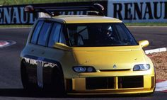 Espace F1. Back in 1994, when Renault's engines were dominating Formula 1 racing - not unlike today in fact - the company dropped its 850 horsepower, 3.5-litre V10 from the Williams FW15C F1 car into the Espace MPV. - See more at: https://www.carwow.co.uk/news/renault-twizy-f1-concept-522-745#sthash.ayvGyBEf.dpuf