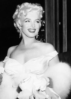 Marilyn Monroe at the premiere of The Seven Year Itch, 1955.