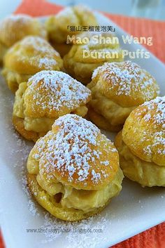 The Fussy Palate: Mao Shan Wang Durian Puffs II