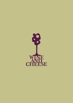 The color scheme works even though there are only two colors. The background color can somewhat represent the color or cheese while the other color is the type of color wine is. The logo itself is pretty clever in how it incorporates both wine and cheese