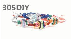 [305DIY]마크라메 물고기 매듭팔찌만들기, macrame fish knot bracelets DIY tutorial
