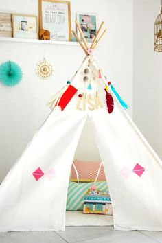 competitive price 4693d 3c2b8 19 Best DIY Teepee images | Diy teepee, Diy, Crate paper