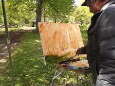 Alexander Babich masterclass. Russian impressionism - YouTube