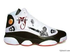 Illustrated Sneakers in Memory of Michael Jackson #hightops #shoes trendhunter.com