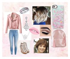 """""""Alice school"""" by larissa1012 on Polyvore featuring Anne Sisteron, H&M, JustFab, Adriana Orsini, BERRICLE, Cullen and Casetify"""