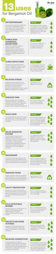13 Bergamot Essential Oil Uses from Dr. Axe If you are interested in buying essential oils go to http://mydoterra.com/iamlimitless