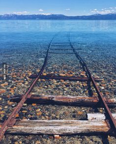 Lake Tahoe, California.  Spirited away feels.