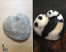 Painted Stones By Akie Nakata Via Stone Artist Akie - Saferbrowser Yahoo Image Search Results