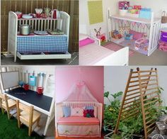 When your little angels grow up there is no need for the crib. You could toss it, donate it or repurpose it. Take a look at these Creative Old Crib Repurpose Ideas, which prevent your crib from going into a landfill, getting reused inappropriately or simply sitting in your basement collecting dust.