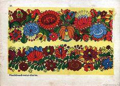 Magyar népi motívumok - Magyar motívumok - Világbiztonság, Mezőkövesdi, matyó díszítés, Hungarian folk art