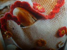 lavoretti creativi dall'uncinetto alla pittura: uncinetto  schemi gratis - gallinella portapane