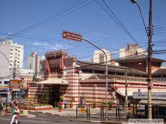 Mercado Municipal de Campinas - prédio lindo com arquitetura mourisca. Uma das sete maravilhas de Campinas.