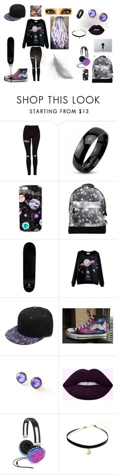 """""""Untitled #96"""" by juliab3638 on Polyvore featuring Topshop, West Coast Jewelry, Nikki Strange, Mi-Pac, County Of Milan, WithChic, HVBAO, Celebrate Shop and Vinyl Revolution"""