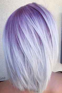 New Pixie And Bob Haircuts 2019 – Superkurze Frisuren - Hair Styles Bold Hair Color, Ombre Hair Color, Ombre Bob, Hair Colors, Lavender Hair, Lilac Hair, Wavy Bob Hairstyles, Bob Haircuts, Casual Hairstyles