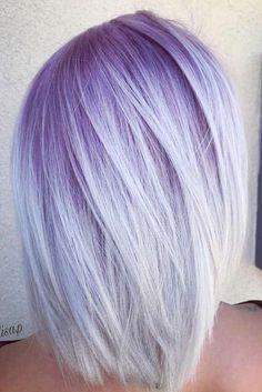 New Pixie And Bob Haircuts 2019 – Superkurze Frisuren - Hair Styles Lavender Hair, Lilac Hair, Purple Ombre Hair Short, Wavy Bob Hairstyles, Bob Haircuts, Casual Hairstyles, Diy Hairstyles, Pelo Rasta, Bold Hair Color