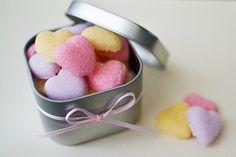 DIY Sugar Hearts by sweetsociety #Sugar #Hearts