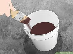How to Stain Brick. People stain brick for many reasons: to make repairs match the rest of the wall, to complement surrounding decor, or just to create a great color change. Unlike paint, stain will seep into and bond with the brick,. Stained Brick Exterior, Stain Brick, Brick Colors, Stain Colors, Backyard Putting Green, Types Of Bricks, Water Based Stain, Brick Patios, Exterior House Colors