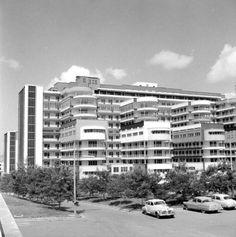 Caracas, años 50's Hospital Universitario de Caracas.