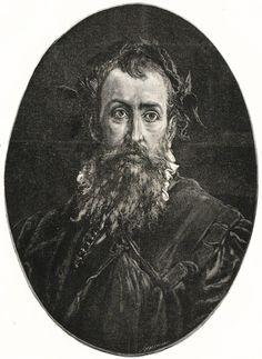 Jan Kochanowski portrait by Józef Holewiński