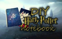 DIY : HARRY POTTER NOTEBOOK