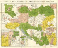 Versuch einer Sprachenkarte der Österreichischen Monarchie (An Attempt at a Language Map of the Austrian Monarchy)